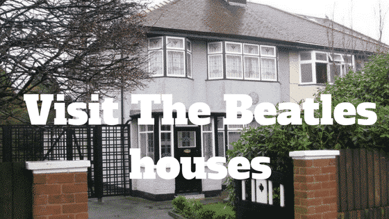 Visit The Beatles houses in Liverpool