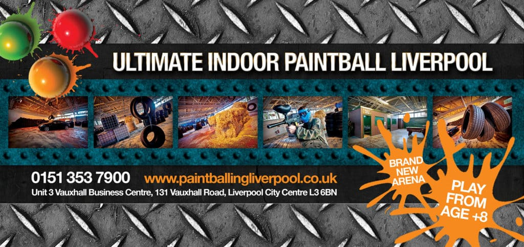 ultimate paintballing liverpool