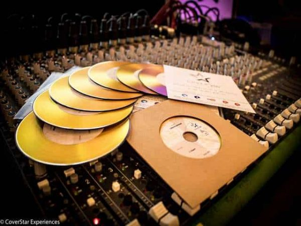 Gold Personalised CD's