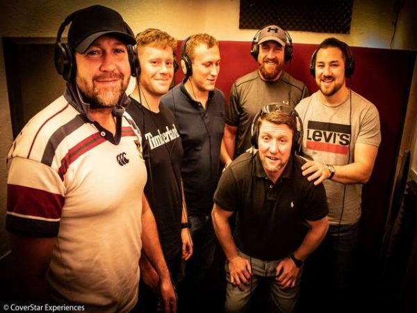 A Stag Do in the Vocal Booth