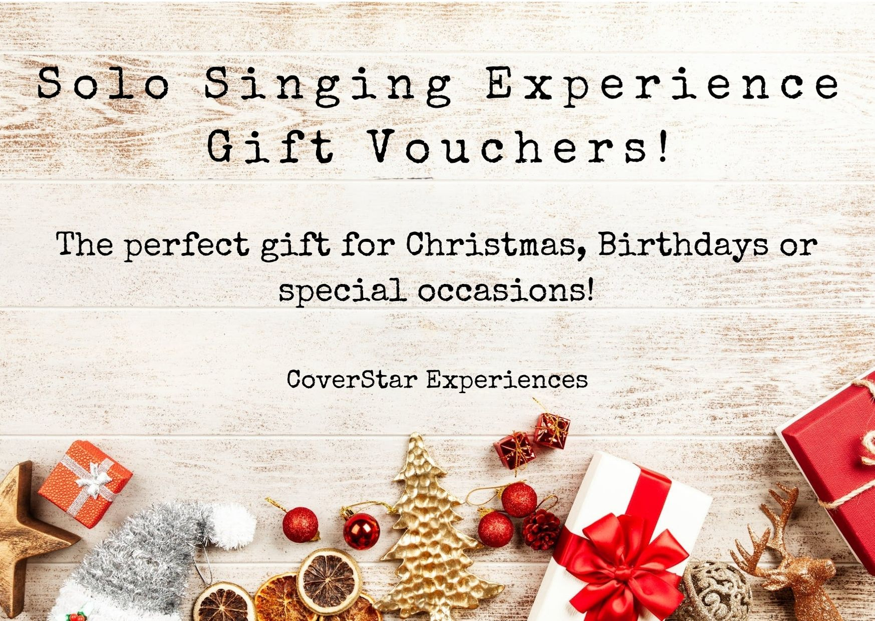 Solo Experience Gift Vouchers